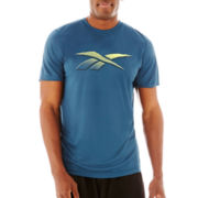 Reebok® Short-Sleeve Vector Tech Top