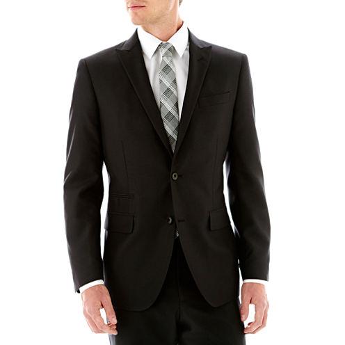 JF J. Ferrar® Boxweave Suit Jacket -Slim Fit