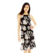 Joe Fresh™ Sleeveless Halter Blouson Dress