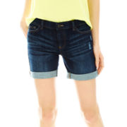 Joe Fresh™ Vintage-Wash Denim Shorts