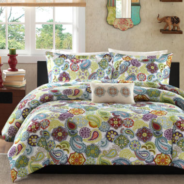 jcpenney.com | Mi Zone Asha Paisley Duvet Cover Set & Accessories