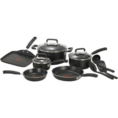 jcpenney.com | T-Fal® Signature 12-pc. Aluminum Nonstick Cookware Set