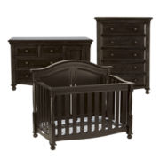 Bedford Baby Monterey 3-pc. Baby Furniture Set - Chocolate