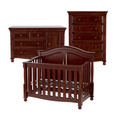 jcpenney.com | Bedford Monterey 3-pc. Baby Furniture Set - Cherry