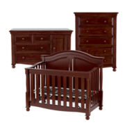 Bedford Monterey 3-pc. Baby Furniture Set - Cherry