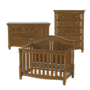 Bedford Monterey 3-pc. Baby Furniture Set - Butternut