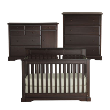 jcpenney.com | Rockland Hartford 3-pc. Baby Furniture Set - Coffee