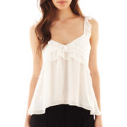 MNG by Mango® Ruffled Tank Top