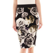 i jeans by Buffalo Floral Print Pencil Skirt