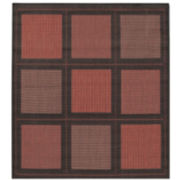 Couristan® Summit Indoor/Outdoor Square Rugs