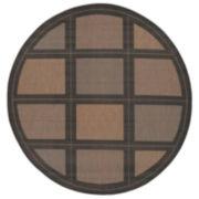 Couristan® Summit Indoor/Outdoor Round Rug