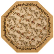 jcp home™ Elegant Fruit Washable Octagonal Rug