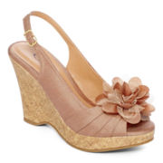 CL by Laundry Ilena Cork Wedges
