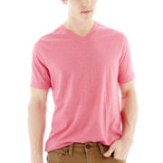 Arizona Snow Heather V-Neck Tee
