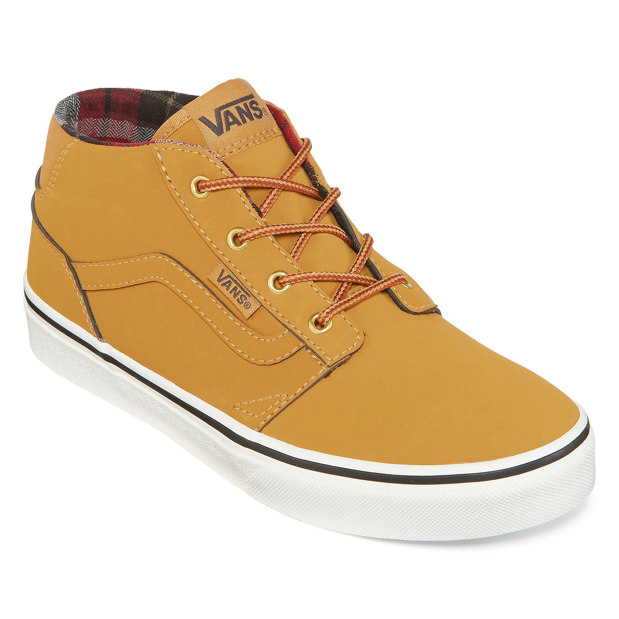 vans chapman boys' skate shoes
