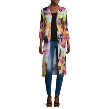 jcpenney.com | Mixit™ 3/4-Sleeve Duster