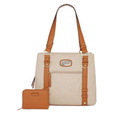 jcpenney.com | Rosetti® Edge Out Double Handle Bag