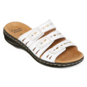 Clarks® Leisa Broach Slide Sandals