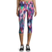 Xersion™ No Side Seam Printed Capris - Tall