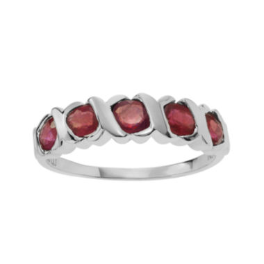 jcpenney.com | Color-Enhanced Ruby Sterling Silver Ring