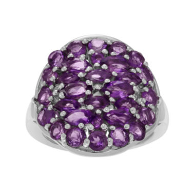 jcpenney.com | Genuine Amethyst Sterling Silver Ring
