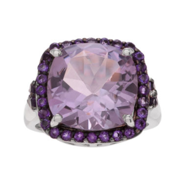 jcpenney.com | Genuine Pink and Purple Amethyst Sterling Silver Ring