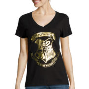 Hogwarts Crest Short-Sleeve Graphic Tee