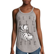 Disney Alice In Wonderland High-Neck Tank Top