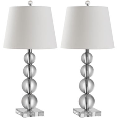 jcpenney.com | Hayden Crystal Ball Table Lamp (Set Of 2)