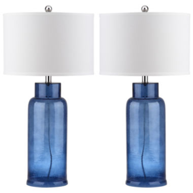 jcpenney.com | Geoff Bottle Glass Table Lamp- Set of 2