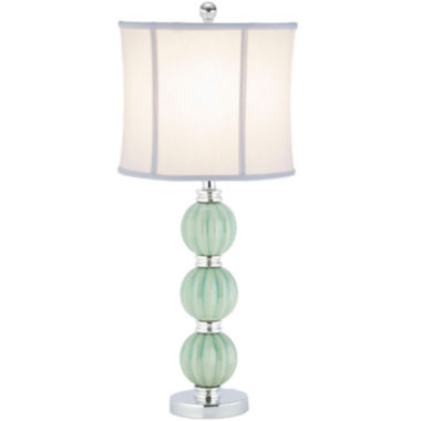 jcpenney.com | Amber Green Globe Lamp