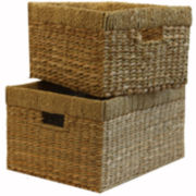 Baum-Essex Set of Two Tall Storage Baskets