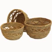 Baum Set of 3 Aspire Storage Baskets