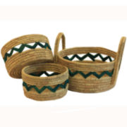 Baum-Essex Set of Three Aspire Baskets