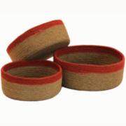 Baum-Essex Set of Three Round Bowls