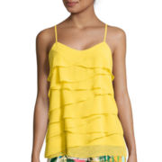 nicole by Nicole Miller® Tiered Ruffle Cami