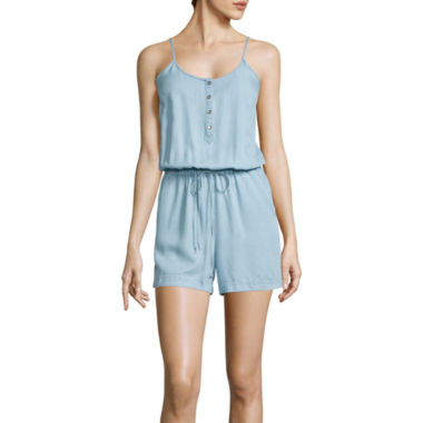 jcpenney.com | a.n.a® Sleeveless Cami Romper - Tall