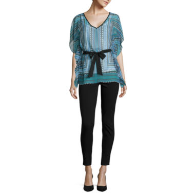 jcpenney.com | Alyx® Short-Sleeve Pull-Thru Woven Top or Slim-Leg Millennium Pants