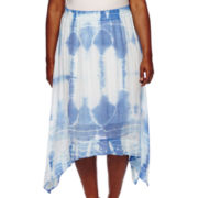 Alyx® Tie-Dyed Sharkbite Skirt - Plus
