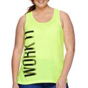Xersion™ Graphic Tank Top - Plus