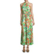 Decree® Sleeveless Double-Slit Maxi Dress- Juniors