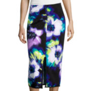 Worthington® Center Split Pencil Skirt - Tall