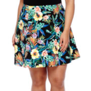 Decree® Scuba Skater Skirt - Juniors Plus