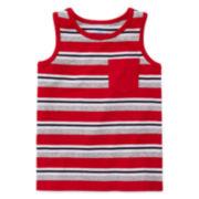 Okie Dokie® Stripe Tank Top - Toddler Boys 2t-5t