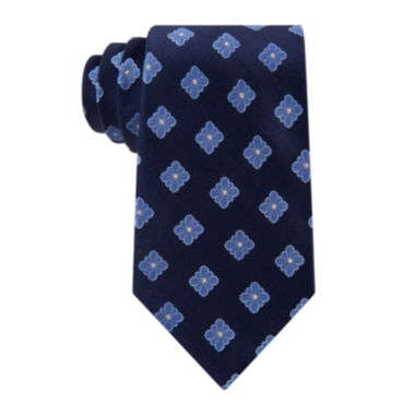 jcpenney.com | Stafford® Executive Floral Medallion Silk Tie