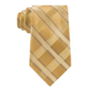 Stafford® Executive Big Satin Grid Silk Tie