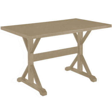 "jcpenney.com | Florence 30x48"" Trestle Table"