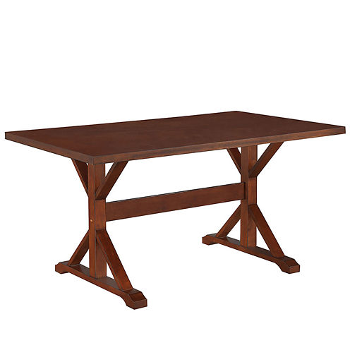 """Florence 36x60"""" Trestle Table"""