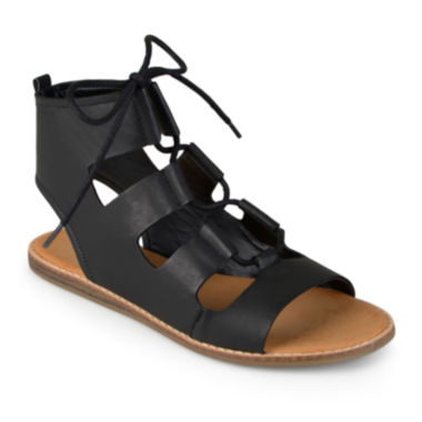 jcpenney.com | Journee Collection Ila Lace-Up Gladiator Sandals