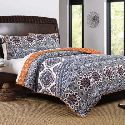 greenland home fashions medina quilt set - Greenland Home Fashions